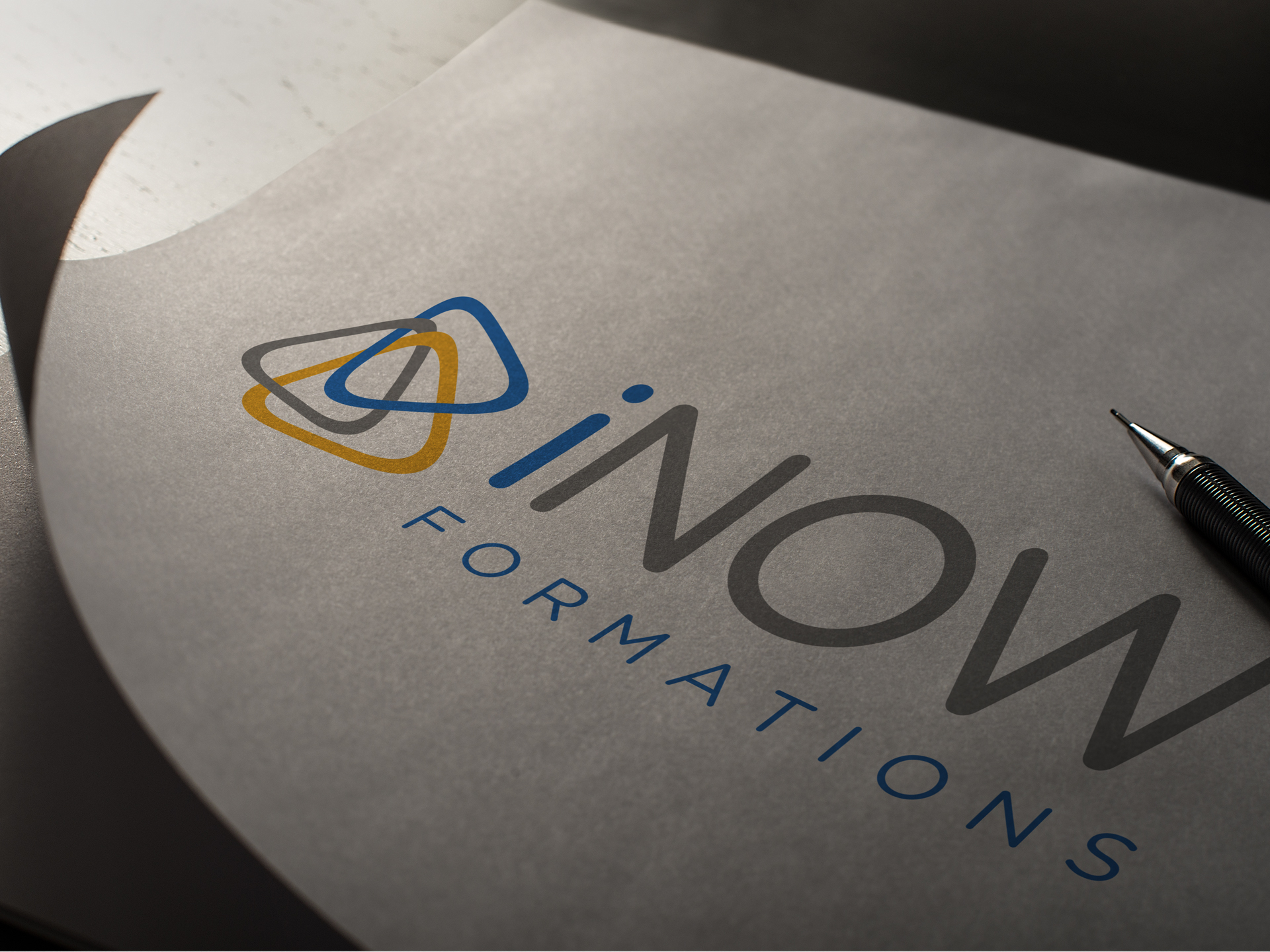 Inow formations, new logotype by Vanessa Mathias